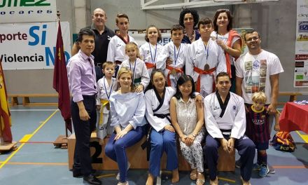 Lluvia de medallas en Lorca para el Gimnasio Sin