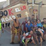 Éxito de organización, voluntarios y participantes en la 90K Camino de la Cruz a su paso por Campos del Río