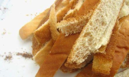 Los bordes del pan