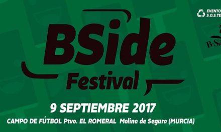 """El """"B-Side Festival"""", de Molina de Segura, estrena nueva ubicación"""
