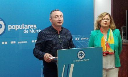 El PP  considera que la retirada de las competencias a Candi Marín en el Ayuntamiento de Moratalla «llega tarde»
