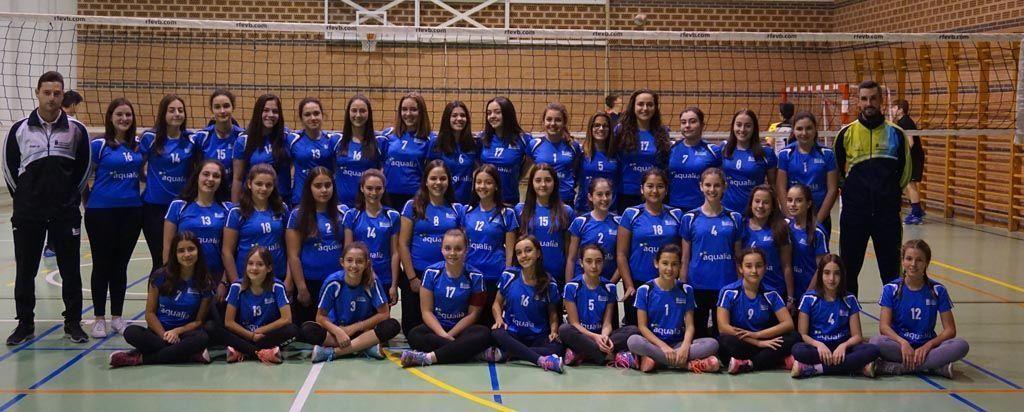 Continúa creciendo el voleibol femenino en Caravaca de la Cruz