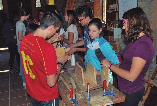 Alumnos de 1º de Bachillerato del IES San Juan de la Cruz visitan Granadilla en Cáceres