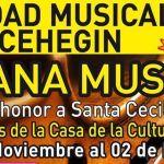 Semana de conciertos de la Sociedad Musical de Cehegín con motivo de su XXV Aniversario