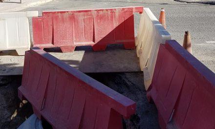 Iniciadas las obras del colector de saneamiento de aguas residuales de Bullas