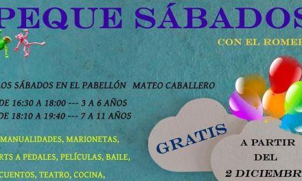 Los 'Peque Sábados' comienzan este sábado en Bullas