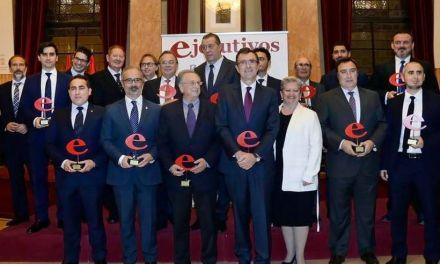 Caravaca recibe uno de los premios 'Ejecutivos de la Región de Murcia' por la promoción turística del Año Jubilar 2017