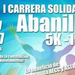 """El próximo 18 de noviembre tendrá lugar la """"I Carrera Solidaria Abanilla"""" en beneficio de la AECC y Astrade"""