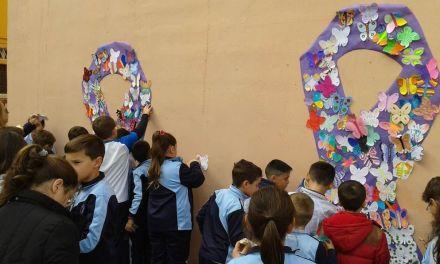 Galería fotográfica de las actividades realizadas contra la violencia machista en el CC Amor de Dios de Bullas