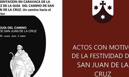 Programan en Caravaca una serie de actos con motivo de la festividad de San Juan de la Cruz