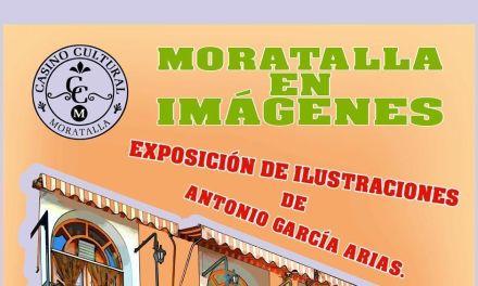 El Casino Cultural de Moratalla acoge la exposición de ilustraciones de Antonio Garcia Arias