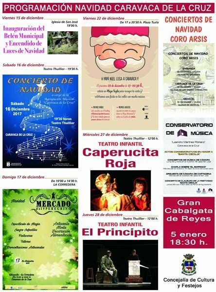 Música y espectáculos infantiles para festejar la Navidad en Caravaca
