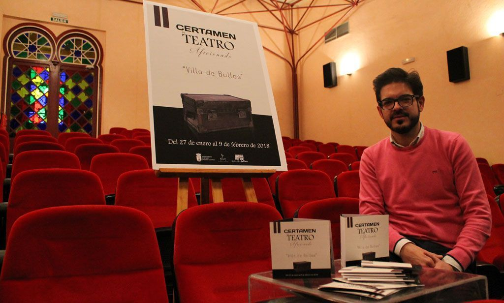 Comienza el II Certamen de Teatro Aficionado 'Villa de Bullas'