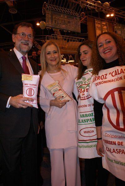 Rajoy visita stand del Noroeste