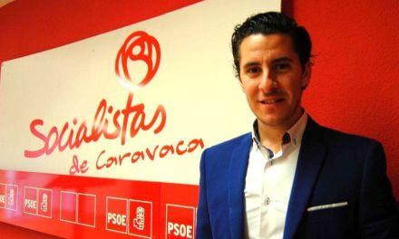 Juan Carlos Castillo Abril, elegido nuevo Secretario General de las Juventudes Socialistas de Caravaca de la Cruz.