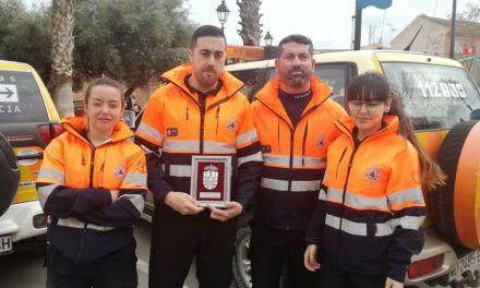 El Ayuntamiento de Los Alcázares reconoce la labor de Protección Civil de Campos del Río en las inundaciones de 2016