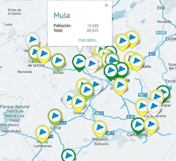 Mapa participación