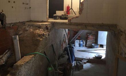 Obras de mejora y ampliación en el Teatro Trieta de Moratalla