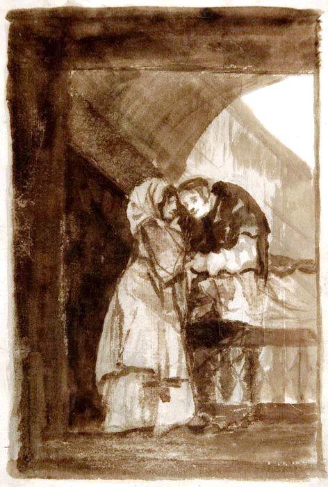 La confesión, Francisco de Goya