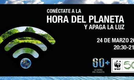 El Ayuntamiento de Caravaca participa en la campaña global 'La Hora del Planeta'