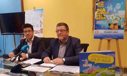 La Concejalía de Medio Ambiente del Ayuntamiento de Caravaca conmemora este jueves el 'Día Mundial del Agua'