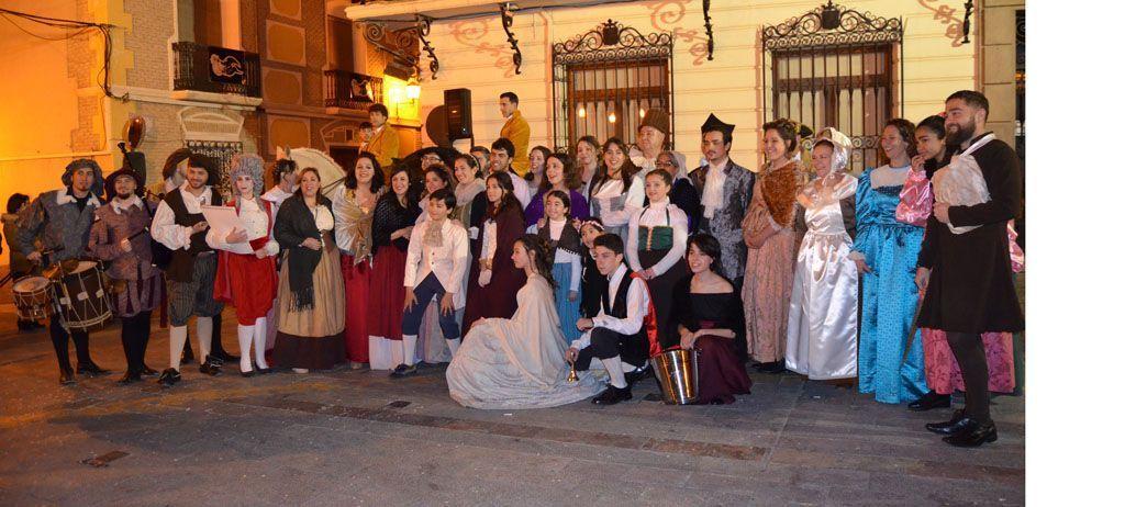 Un gran mercado barroco conmemora la llegada de los marqueses de los Vélez a Mula