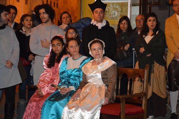 Representación por teatro luna de 'Juicio por brujeria en Mula'