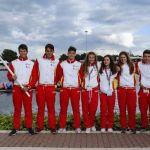 Inaugurado el clasificatorio mundial YOG de piragüismo en el  Canal Olímpic de Catalunya