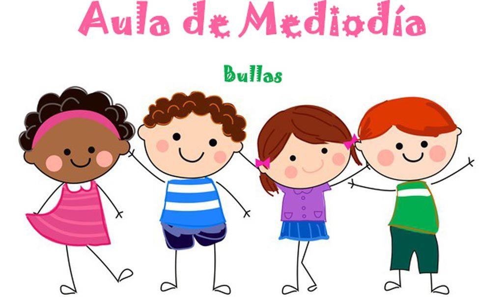La Concejalía de Educación de Bullas pone en marcha el servicio de conciliación a mediodía