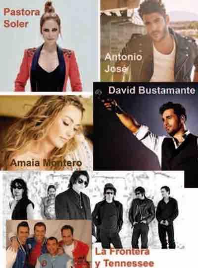 Se abre el plazo para elegir el artista o grupo musical principal para las Fiestas Patronales