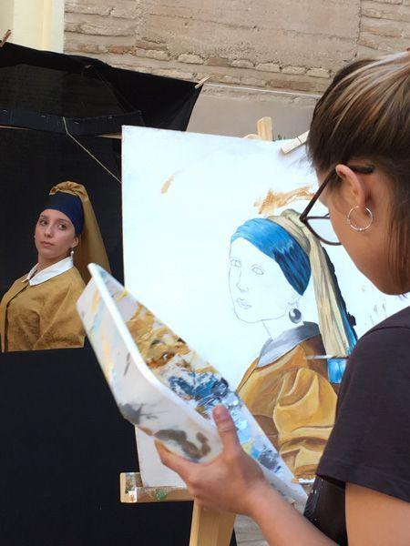 Artista participante en Arte en Vivo