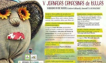 V Jornadas Campesinas este sábado 19 en Bullas