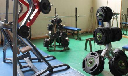 Nuevos aparatos de musculación para ofrecer un mejor servicio a los usuarios del gimnasio de La Rafa