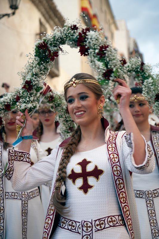Templaria en la procesión del 3