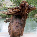 """Noemí Yepes presenta su exposición """"Ododua. Las raíces de nuestra naturaleza"""" en Bullas"""