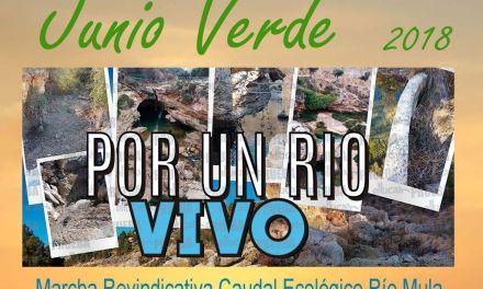 Marcha Reivindicativa desde Bullas para exigir un caudal ecológico desde el nacimiento del río Mula