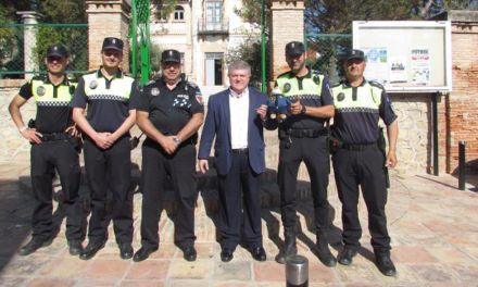 El Ayuntamiento de Calasparra y su Policía Local se unen a la cadena solidaria de relevos STARSPAIN -Intercambio Policial Internacional