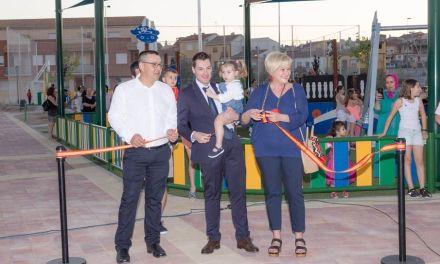 Inaugurada una Zona Verde en el Barrio de San Antonio de Cehegín