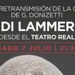 El Thuillier de Caravaca retransmite en directo desde el Teatro Real la ópera 'Lucía di Lammermoor'