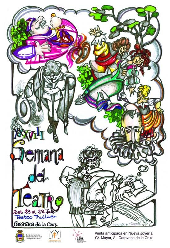 Caravaca sube el telón de su XXXVIII Semana de Teatro del 23 al 29 de julio
