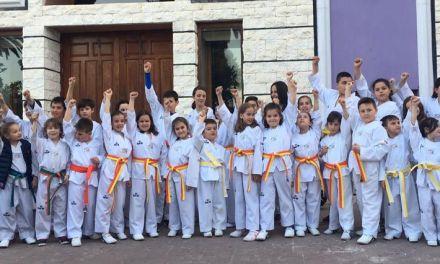 La Escuela de Taekwondo de Moratalla alcanza en 2018 los setenta y cinco alumnos