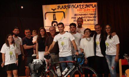 'En bicicleta contra el cáncer' se marca como reto recaudar 10.000 euros para la lucha contra el cáncer infantil