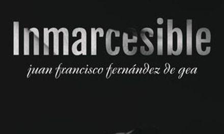 Juan Francisco Fernández de Gea presentará en Cehegín el próximo sábado 7 de julio su libro 'Inmarcesible'