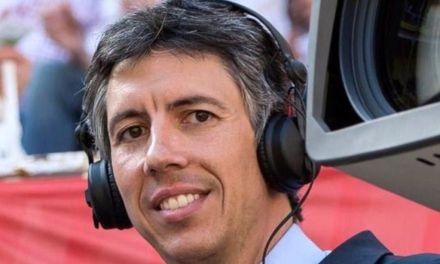 Máximo Pérez, pregonero de la Feria Taurina del Arroz