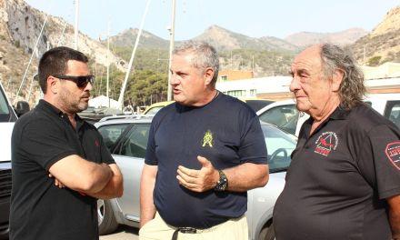 El coordinador de Protección Civil de Cehegín instruye a escoltas de la Presidencia del Gobierno y la Casa Real