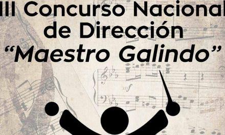 """El 18 y 19 de agosto se celebrará la fase final del III Concurso Nacional de Dirección """"Maestro Galindo"""" en Calasparra"""