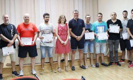 Una veintena de alumnos recibe en Cehegín su diploma de Técnico en Espectáculos