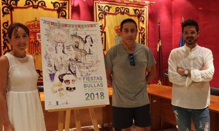 Damián Guirado, ganador del cartel anunciador de las Fiestas Patronales de Bullas