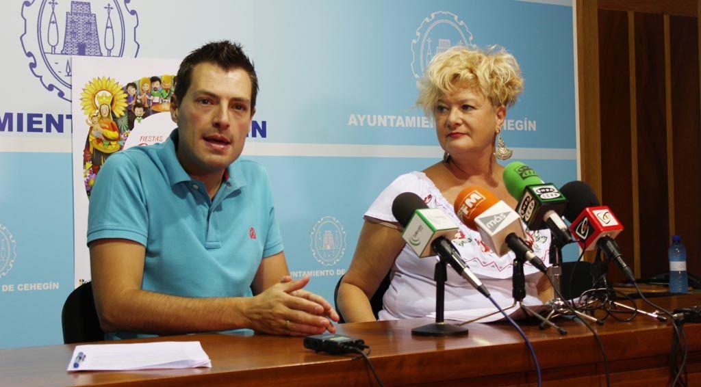 """Arrancan las Fiestas """"abiertas y participativas"""" de Cehegín"""