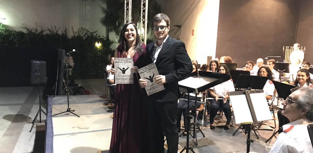Irene Isabel García Esteban, ganadora del Concurso Nacional de Dirección «Maestro Galindo»